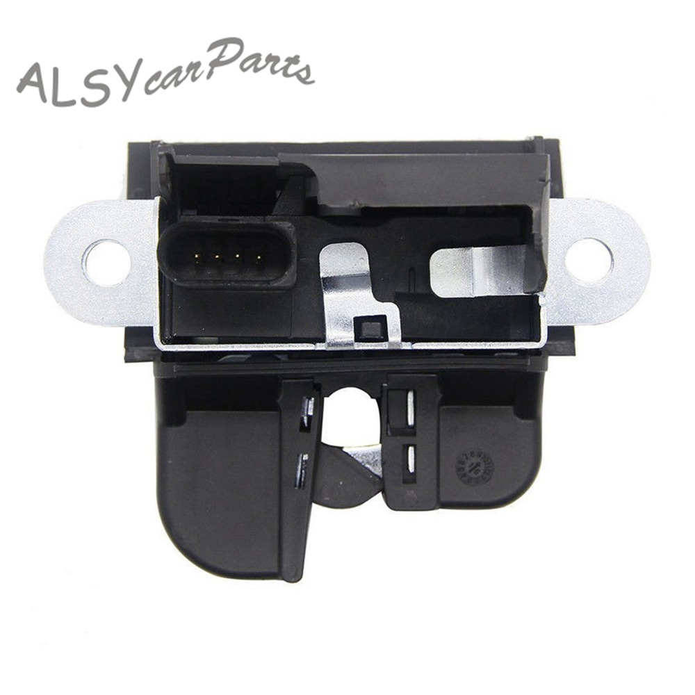 YIMIAOMO OEM 6R0 827 505B Rear Trunk Boot Lid Liftgate Lock Latch Actuator For VW Polo Hatchback Polo Vento 2010-2018 6R0827505E