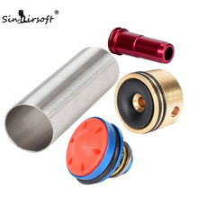SINAIRSOFT Hot sale MA 4 pcs cabeça do Cilindro de pistão/cabeça/bico/Cilindro Set para a Série M4 airsoft AEG