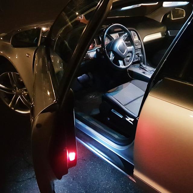 14pcs Canbus Car LED Light Bulbs Interior Kit For 2008-2015 Dodge Grand Caravan White 12V Led Map Dome Door License Plate Lamp