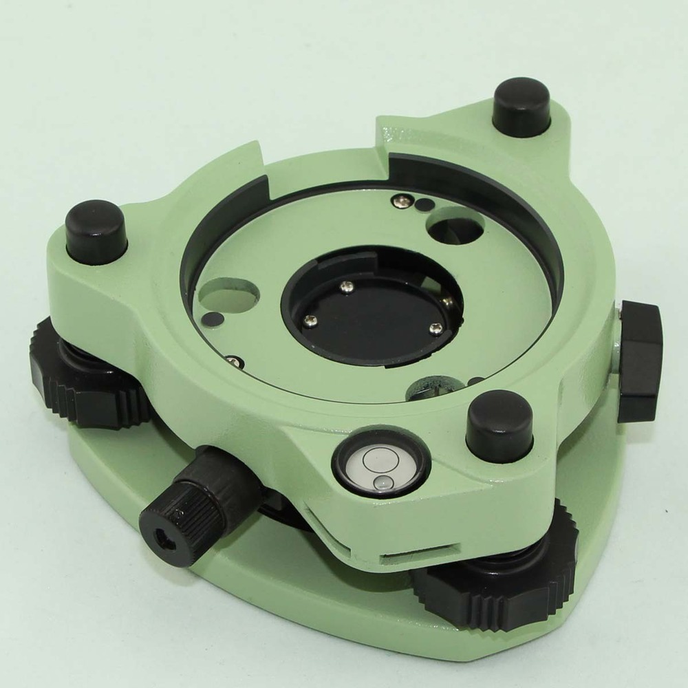 Green Tribrach with optical plummet total station #TL-2 for sale leica green tribrach