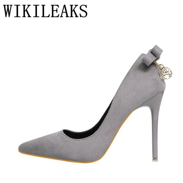 0debfe87d1 Italiana de alta qualidade flock sapatos de salto alto mulher zapatos mujer  senhoras bombeia sandálias de