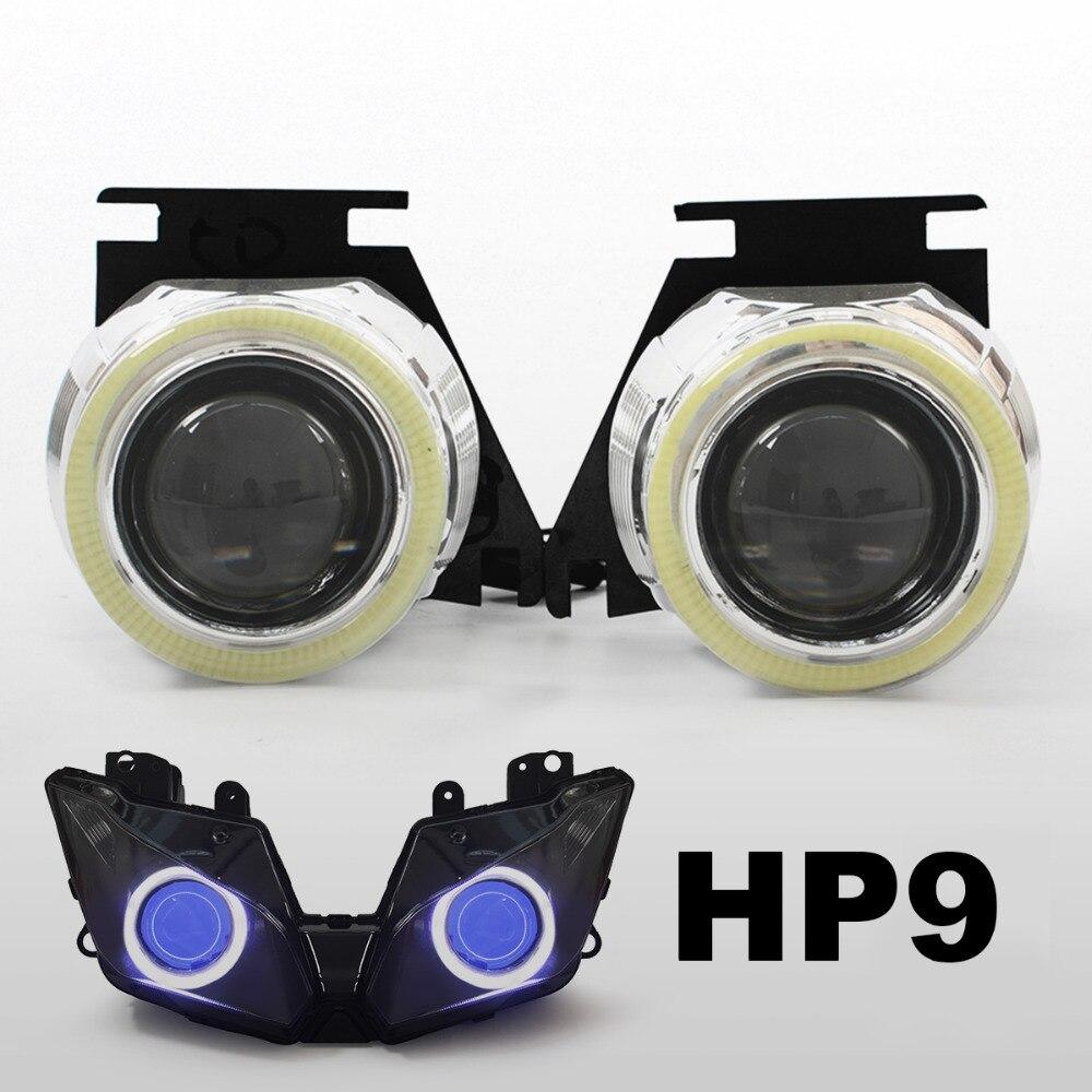 Pair Rear turn signal reflectors for 72-77 Suzuki GT380 GT550 GT750 59mm Red