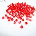 Venda Popular Red AB Cor 720 pcs 3mm Bicone Áustria Grânulos De Cristal de Vidro Solta Pérolas Spacer Bead para DIY Fazer jóias