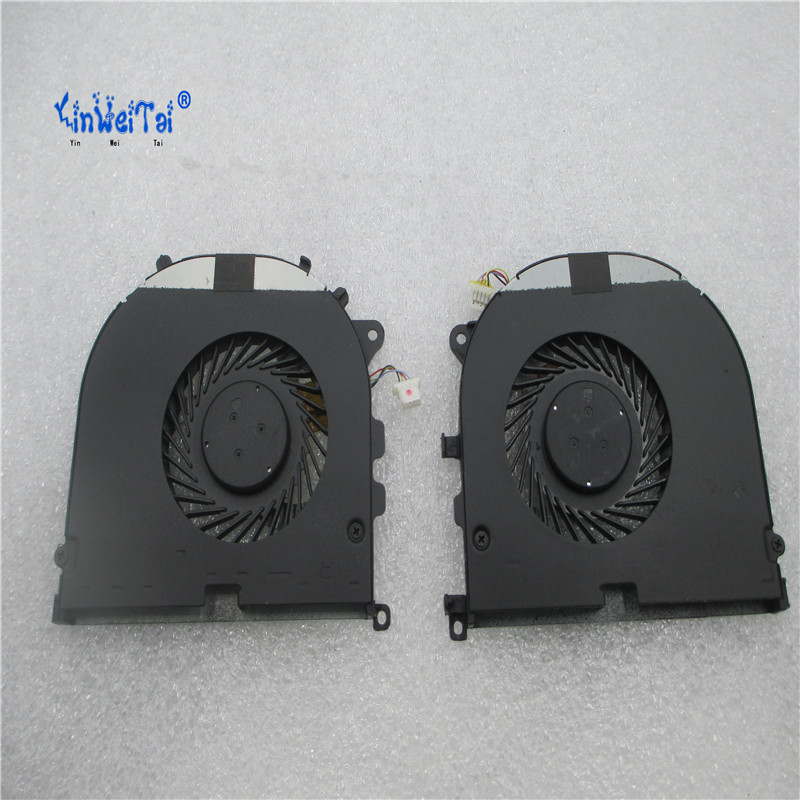 CPU and GPU Fan for DELL XPS 15 9530 Precision M3800 2PH36 H98CT DC28000DQF0 DFS501105PQ0T DFS501105PR0T  EG50050S1-C240-S9A for acer aspire v3 772g notebook pc heatsink fan fit for gtx850 and gtx760m gpu 100% tested