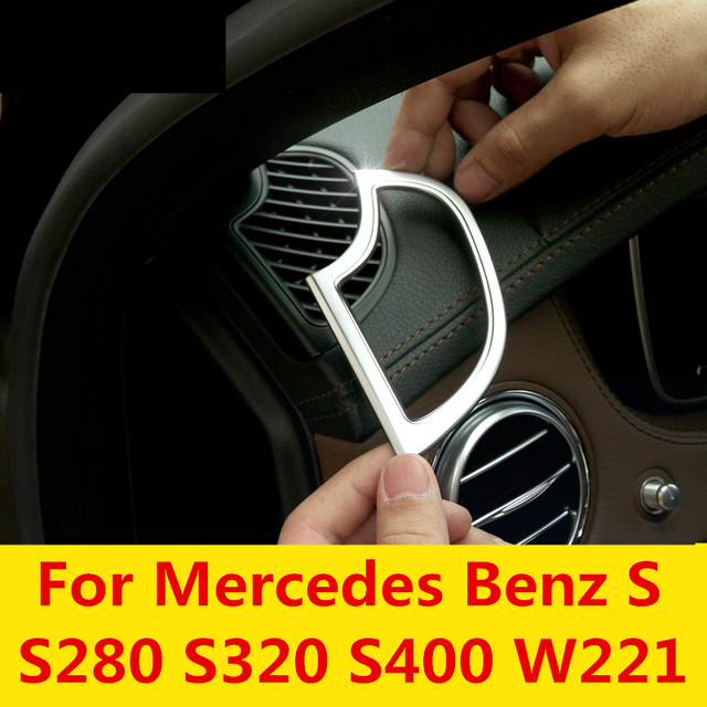 Car Dashboard Outlet Box Special Modified Chrome Decorative Frame