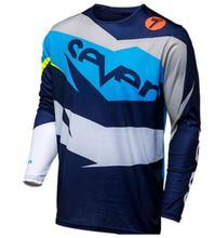 New mens motocross jersey riding speed downhill mountain bike