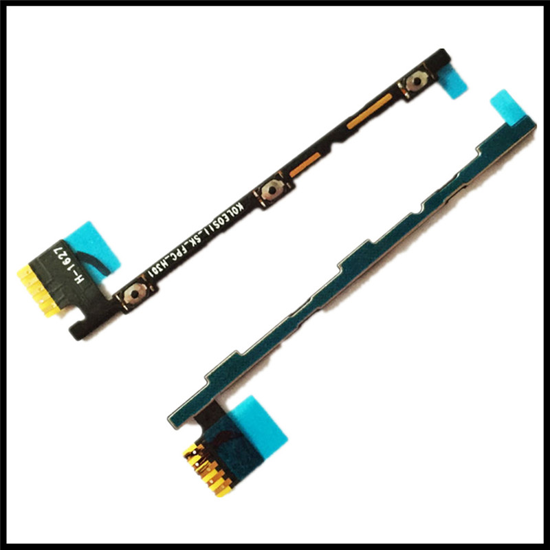 High Quality New Power On/Off Volume Button Key Flex Cable Ribbon For Lenovo K5 Note Mobile Phone Parts Replacement