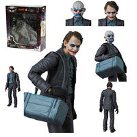 Mafex NO 015 The Joker DC Comics Batman Dark Knight Action Figures Medicom Toy Anime Figure Collectible Model Toy