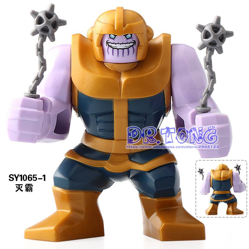Blocks Toys & Hobbies 20pcs/lot Super Heroesinfinity War Avengers Figures Thanos Set Model Building Blocks Children Toys Gifts Sy1060-1