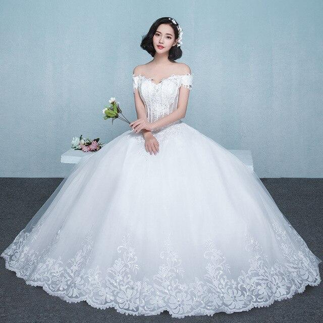 2016 braut Prinzessin Verheiratet Hochzeit Kleid Sexy V Kragen ...