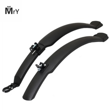 MrY Cycling Bike Plastic MTB Mudguard Quick Release Bike Fenders Road Front Mountain Bike Rear Defender Bicycle Accessories P0 rockbros flectional bike mtb front rear led mudguard set cycling bicycle durable fender plastic with led light quick release