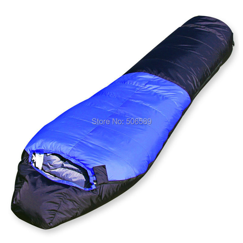 free shipping winter sleeping bag single sleeping bag (190+25)x78x55 1700g fillingfree shipping winter sleeping bag single sleeping bag (190+25)x78x55 1700g filling