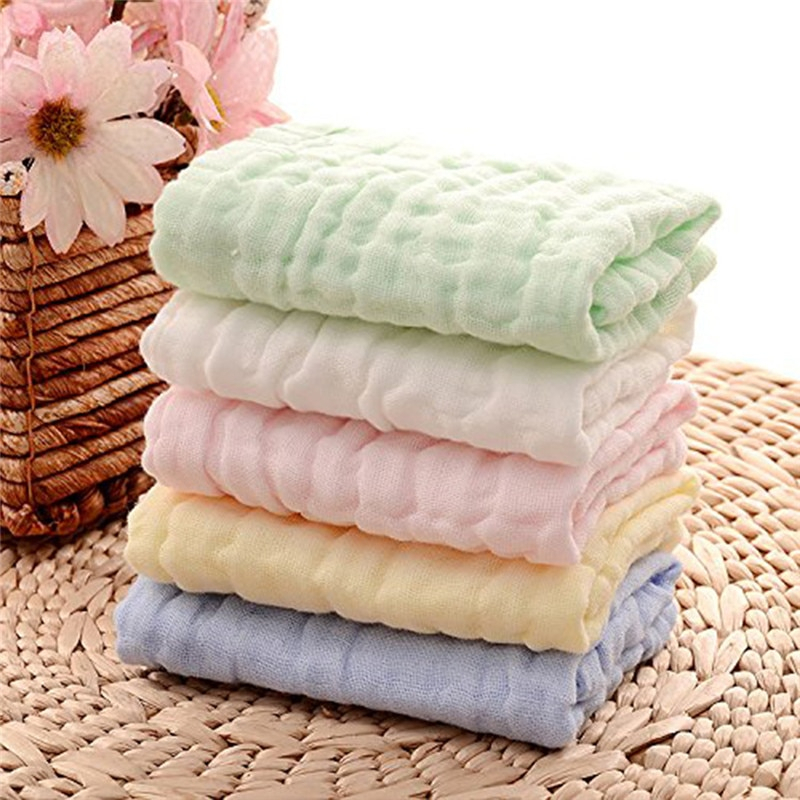 Baby Care Constructive Baby Superfine Fiber Gauze Towel Kid Bath Towels Washcloth Square Towel Children Kitchen Bathroom Wipe Wash Cloth Feeding Cloth Towels