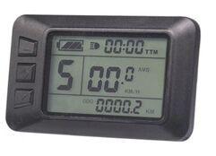 Livraison Gratuite 24 v 36 v 48 v Affichage intelligent KT LCD7u Electrique Velo Pieces de velo controleur звонок b twin велосипедный минизвонок velo