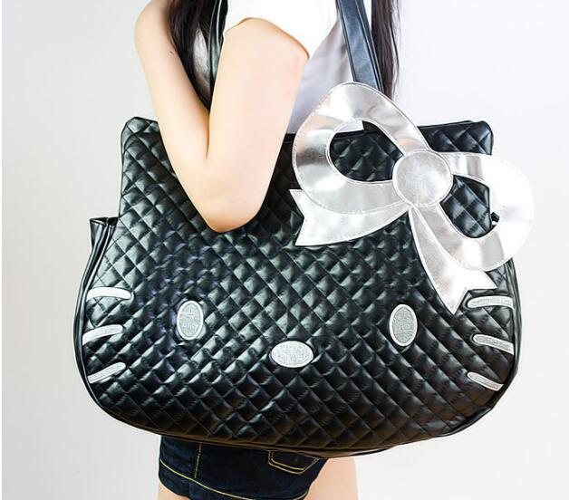ab27c8efd Fashion Handbags Hello Kitty Bag Women Large Capacity Handbag bolsa  feminina Shoulder Bags Female Totes