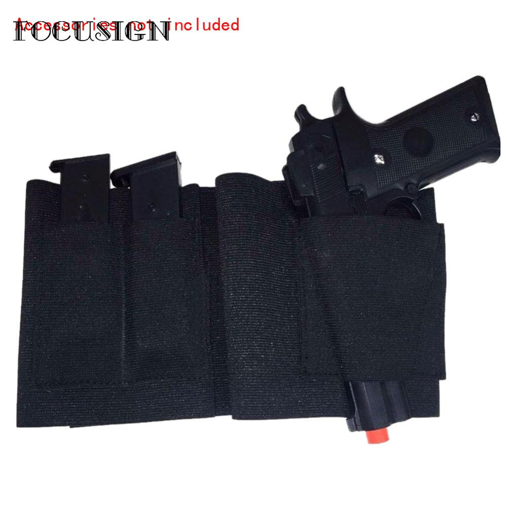 US $4 26 36% OFF|Hot Selling Concealed Belly Band Holster Under Cover  Elastic Abdominal Pistol Pouches Best Price-in Holsters from Sports &