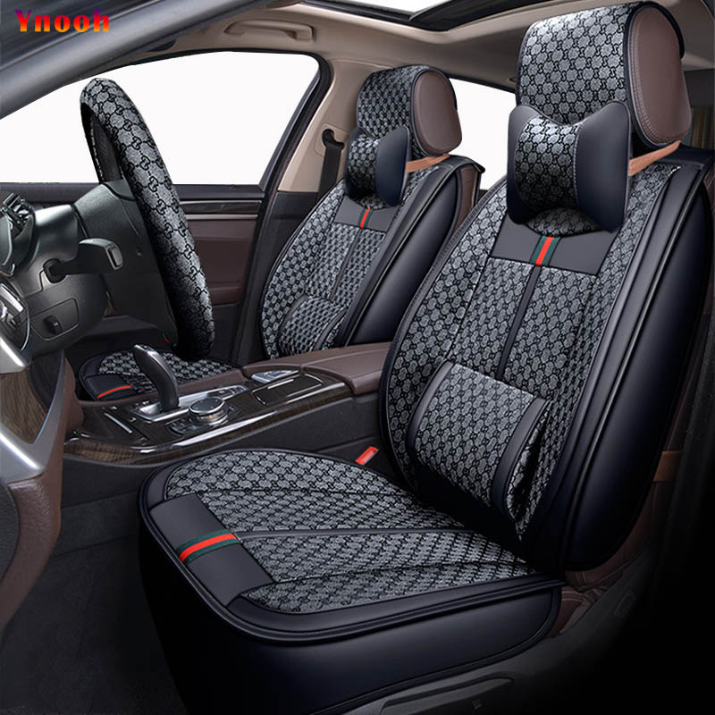 Ynooh car seat covers for ssangyong kyron actyon rexton korando chairman rodius covers for vehicle seat protector accessories bigbigroad car obd2 interface hud head up display windscreen projector for ssangyong korando actyon kyron rexton rodius turismo