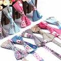 2016 de Los Hombres Clásicos de Algodón Pajaritas Corbata Formal Vintage Floral de la Flor Ajustable de la Pajarita Corbata de Esmoquin Para La Boda Del Partido