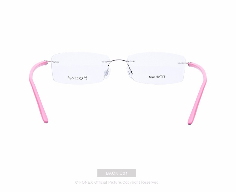 New-Fashion-Titanium-Myopia-Rimless-Glasses-Memory-Eyeglasses-Optical-Frame-TR90-Eyewear-Women-Brand-Designer-8201-FONEX_11