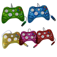 10pcs  a lot Wired Controller Game Controller with LED Light  for Xbox 360 Console for Microsoft
