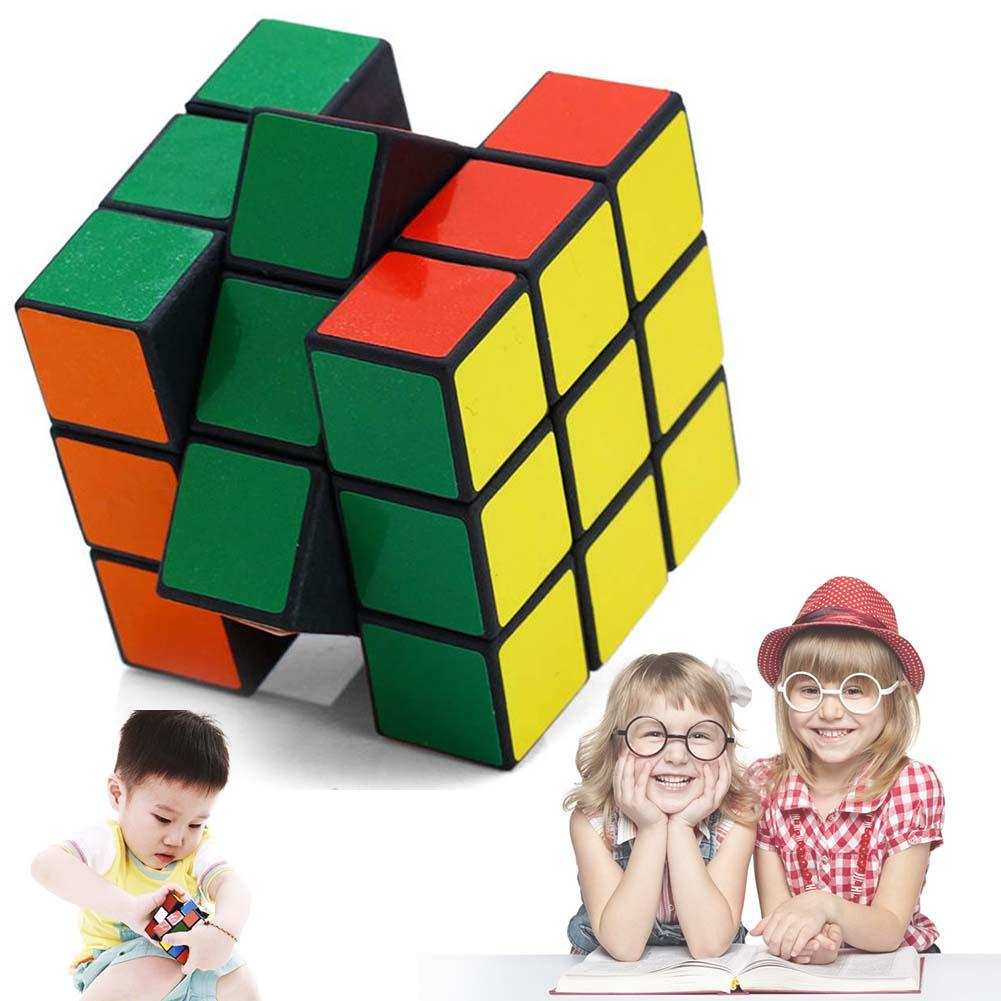 2019 New Brand Magic Cube Magic Ultra-smooth Professional Speed Cube Puzzle Twist  Stundent Gift Classic Magic Cube