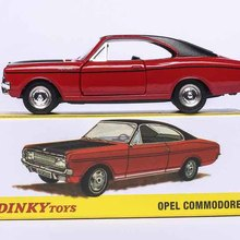 Car-Model Collection-Toys Wheels Diecast Atlas Children for Adult 1420 1/43 COMMODORE