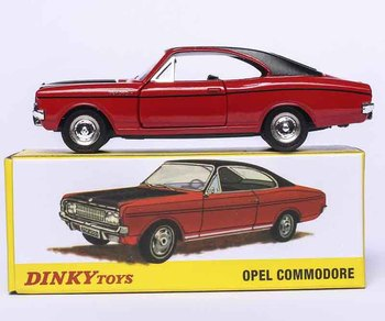 Dinky Toys Atlas 1420 1/43 OPEL COMMODORE COUPE Hot Alloy Diecast Car Model  Collection for Children Adult Wheels