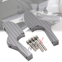 New Passenger Foot Peg Extensions Extended Footpegs For Vespa GT GTS GTV 60 125 200 250 300 300ie