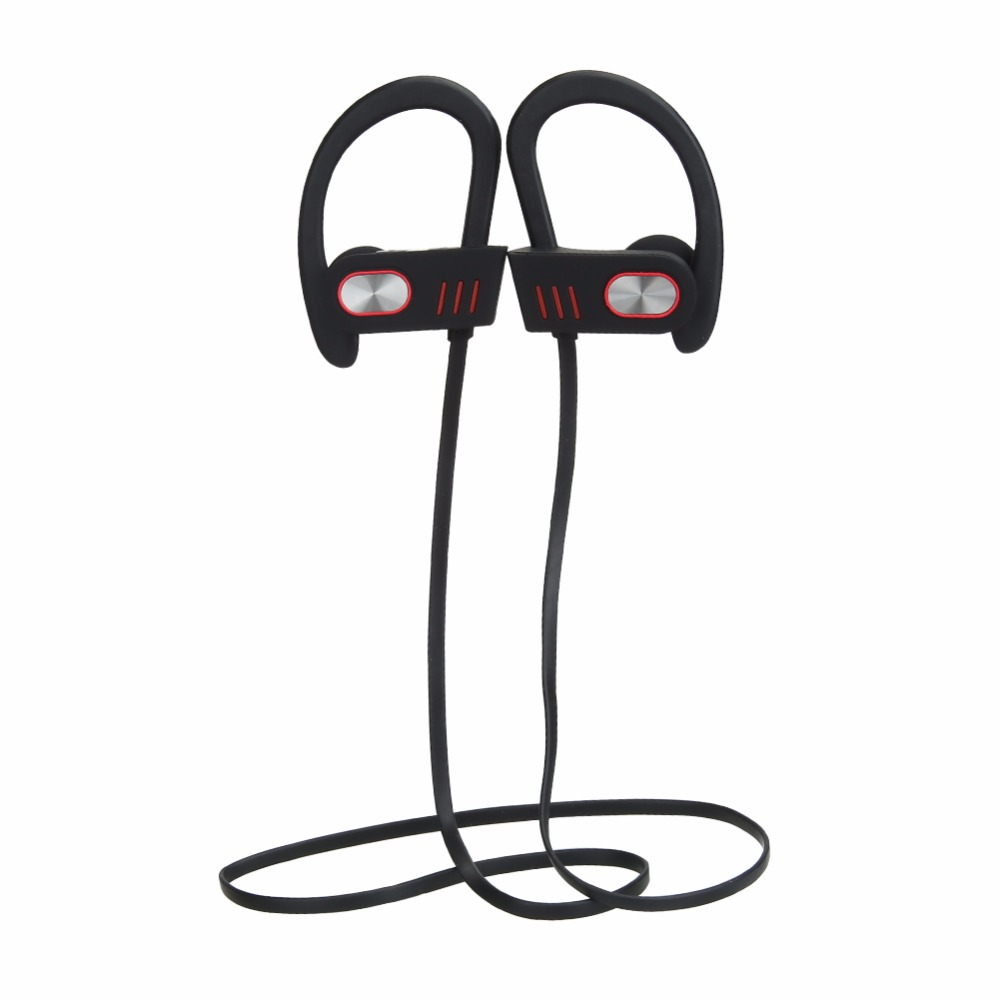 VODOOL Wireless Sports Bluetooth Earphones Stereo Earbuds Headset Bass Headphones with Mic In-Ear for iPhone 6 Samsung Earphone superior quality wireless bluetooth neckband sports mic in ear headset headphones for iphone 6 7 mar20