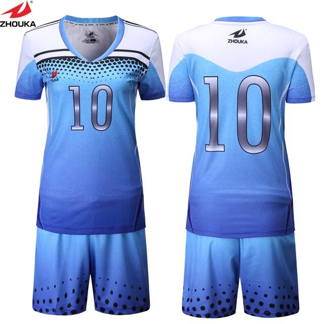 Sublimación Vóleibol uniformes Custom su diseño nombre