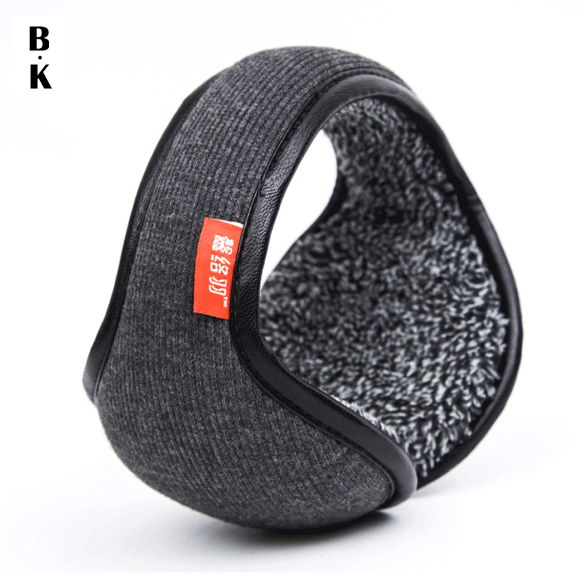 Winter Earmuffs Warm Wool Knitted Ear Wa