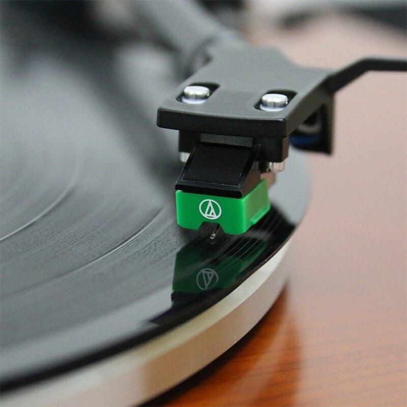 AT95E double aimant MM stylet Phono lecteur de disques cartouche stylet aiguille de haute qualité-in Plaques Tournantes from Electronique    1