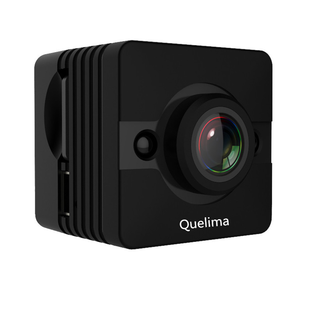 Quelima SQ12 Mini Camera Recorder Night Vision Dash Cam 155 Degrees FHD 1080P Camcorders Car DVR Built-in 200mAH Battery