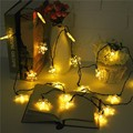 5M Snowflake Bling Multicolor LED Fairy Light 20 LED String Light Christmas Outdoor Wedding Party Decor Lamp Waterproof