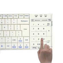 Bluetooth wireless keyboard touch keyboard multimedia integrated Universal mobile computer keyboard for ios android surface