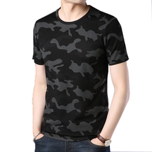 Men T Shirts Camouflage Army Military T-shirts Tops Tees Mens Clothing Cotton Fashion Casual O Neck Fitness Tshirt Sportwear