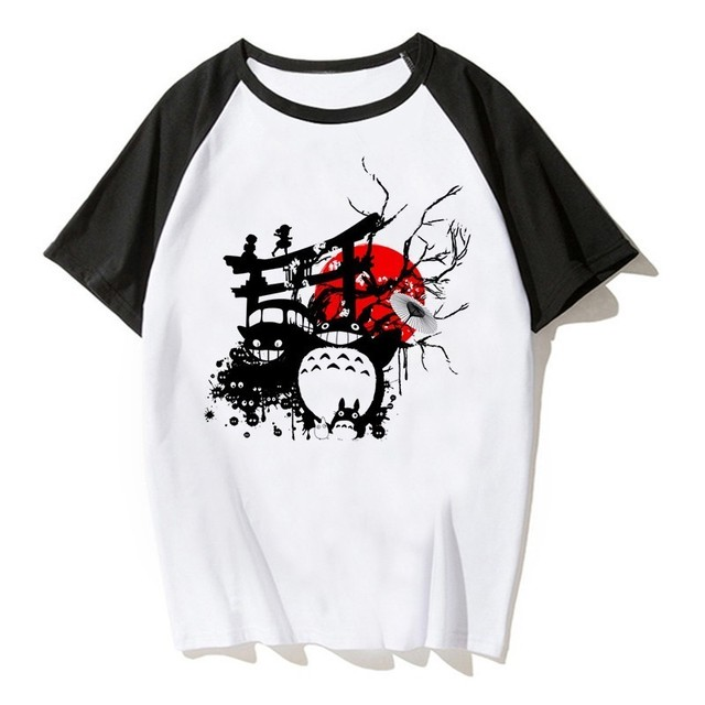 Japanese Anime Totoro Shirt...