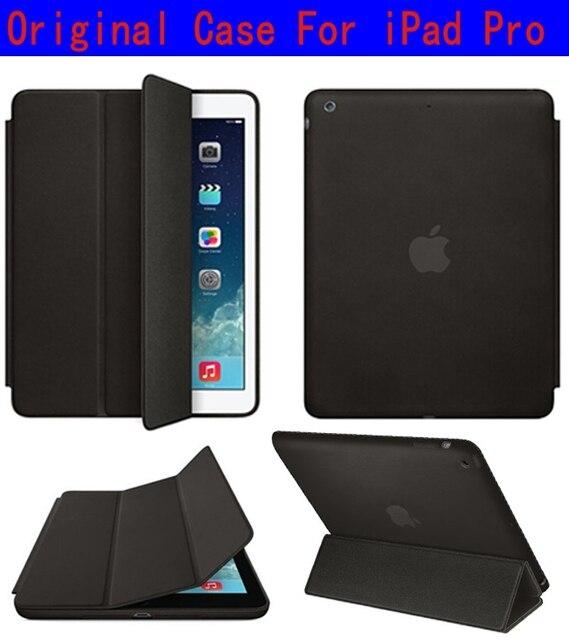 Luxo inteligente pu caso capa de couro para apple ipad pro 12.9 polegadas com auto função sleep/wake up