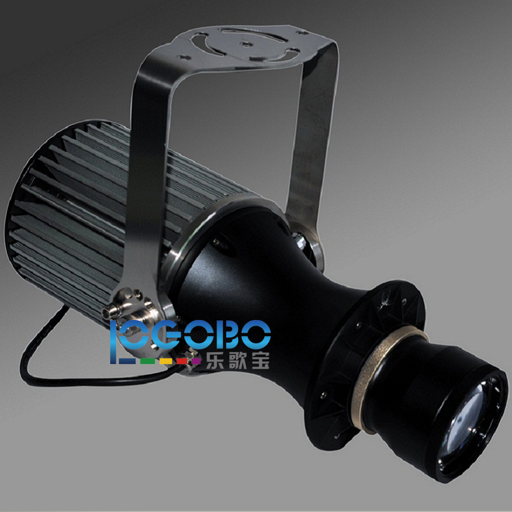 Outdoor Powerful 100W Slide Projector Lighting LED Custom lmage Gobo Logo Advertising Projection Mobile Sign Lamp Waterproof