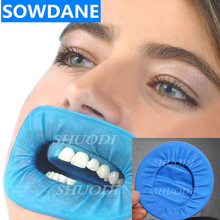 10 Pcs Disposable Dental Rubber Dam Cheek Retractor for Dentist Surgery Use Natural Rubber Barrier Sterile Control for Isolation недорого