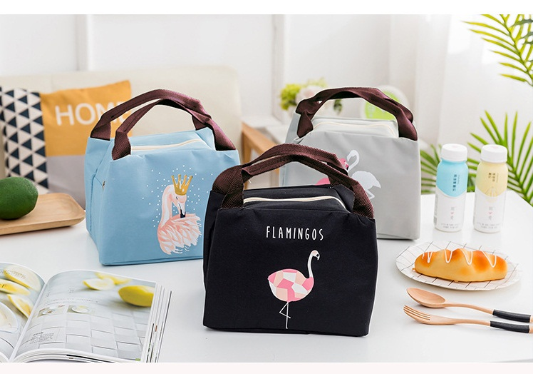 mylb free shipping 2018 new Lunch Bag oxford fabric Thermal Food Picnic For Women Kids Men Cooler Lunch Box Bag Tote
