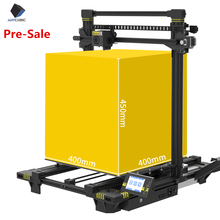 ANYCUBIC Chiron 3D 3d Printer Plus size TFT Auto-leveling Titan Extruder Dual Z Axisolor kit impressora kit imprimante gadget