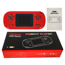 Console Portable de console de jeu de poche pvp avec 288 jeux rétro à lintérieur