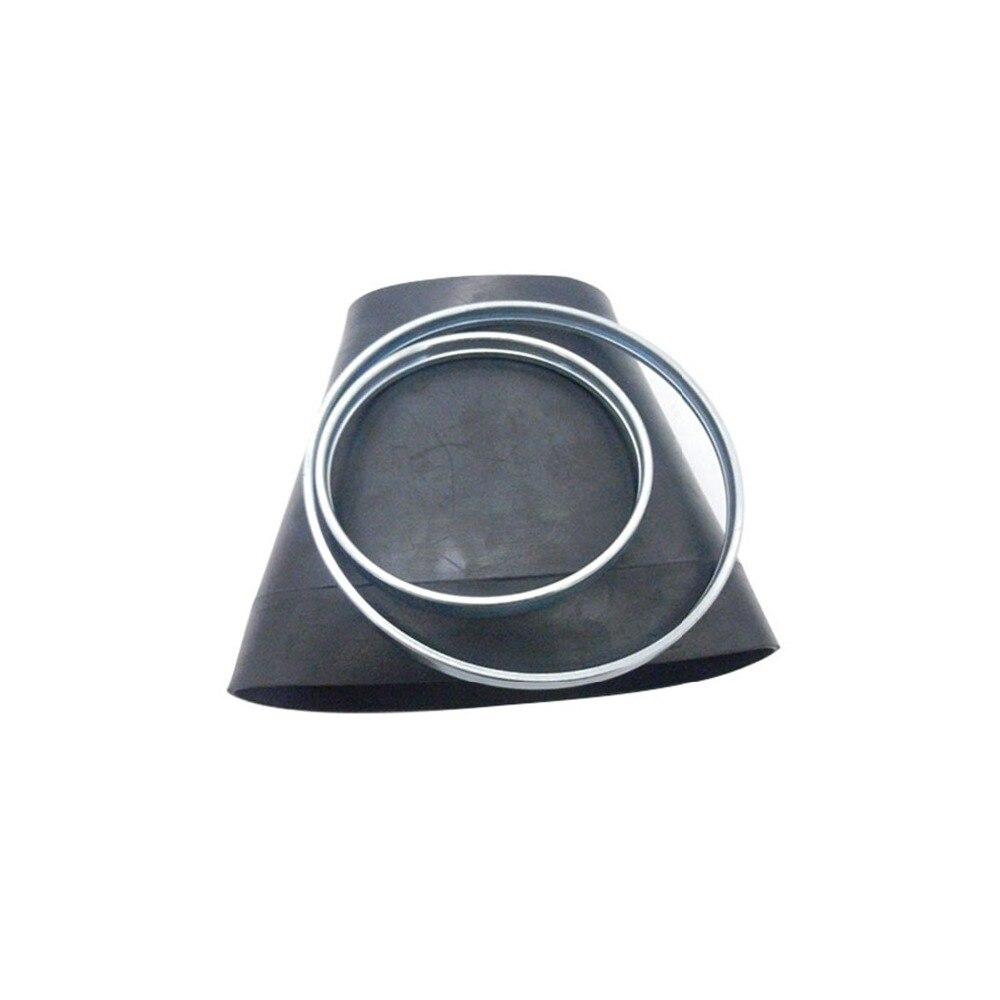 Ressort pneumatique à manchon arrière en caoutchouc avec anneaux en métal Kit de réparation de Suspension pneumatique pour mercedes-benz W221 S350 S500 2213205513 2213205613