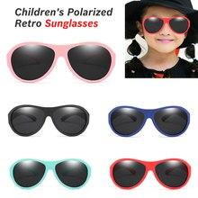 купить oculos New Kids Polarized Sunglasses TR90 Boys Girls Sun Glasses Silicone Safety Glasses Gift For Children Baby UV400 Eyewear дешево
