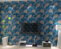 Beibehang Mode Hause Dekorative Tapete Einfachen Feder 3d Wohnzimmer Sofa Hintergrund Tapete papel de parede 3d wallpaper