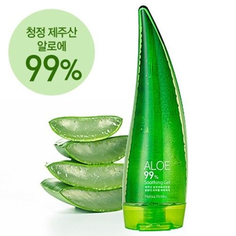 Holika Holika Aloe 99% Soothing Gel 250ml Moisturizers for Face Body Korea Cosmetics  edge shave gel soothing aloe 7 oz pack of 2