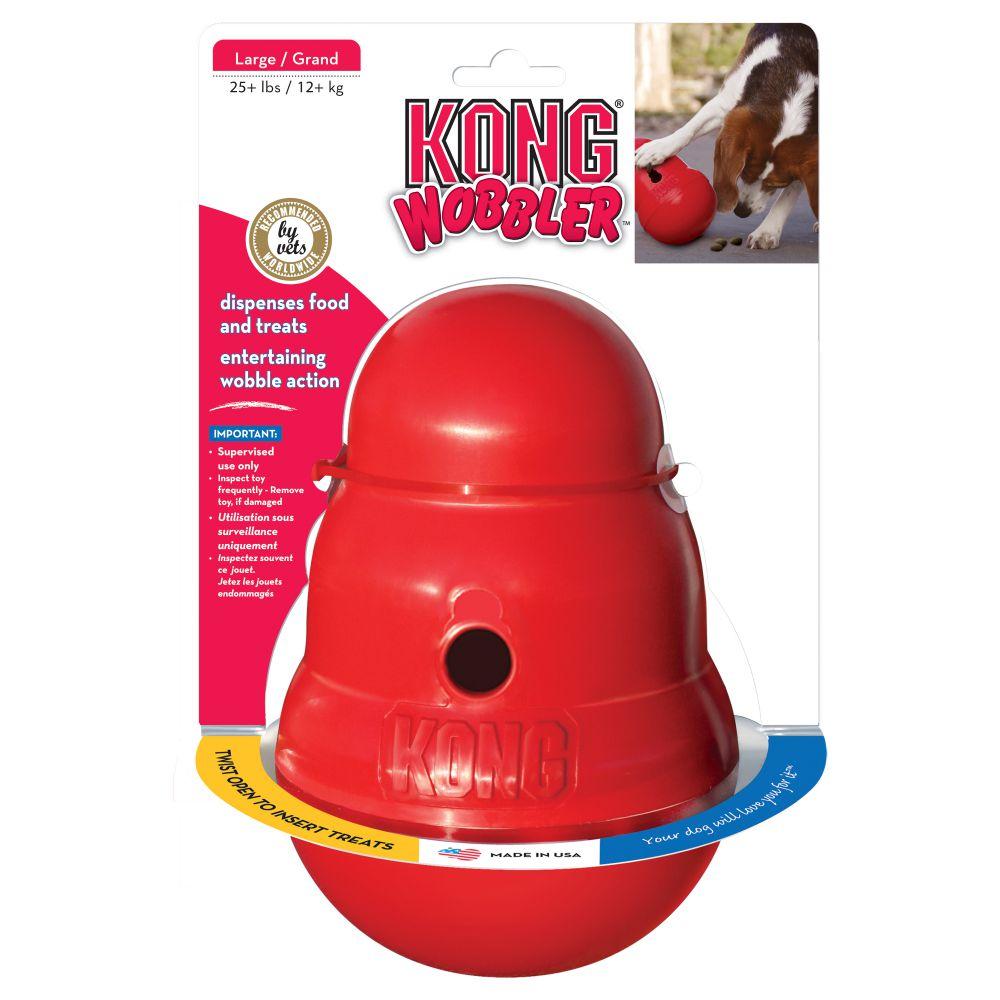 Игрушка для собак KONG Wobbler S/L