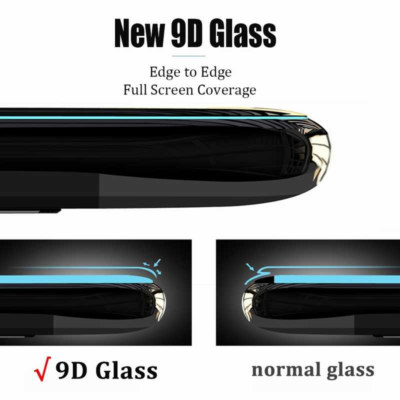 9D Curved Tempered Glass on the For Samsung Galaxy A30 A50 A10 Screen Protector on For Samsung M10 M20 M30 Protective Glass Film