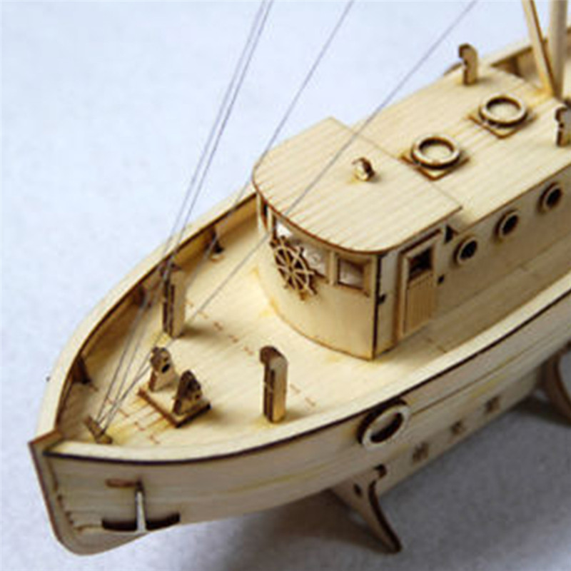 Wooden Ship Boat Model DIY Kits 1//30 Scale Sailing Boat Assembly Toy Gift